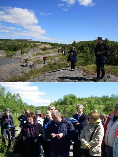 Tverlandet nature reserve is known for its rich plant diversity with red-listed species such as orchids. Also BPAN project experts and members of the steering committee attended the meeting in Bodø, Norway. (Photos: Ekaterina Laukkonen, Jevgeni Jakovlev)