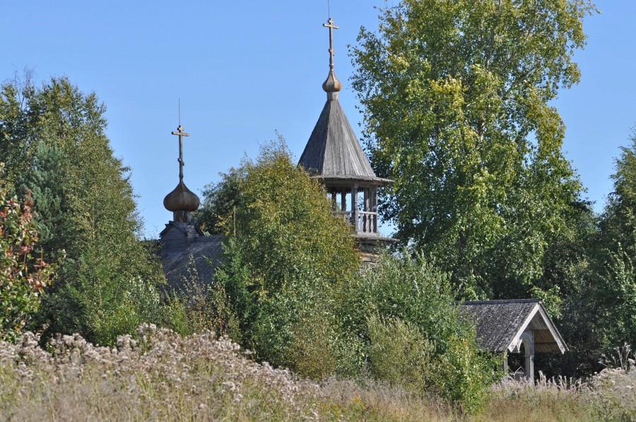 Tambitsy church in Zaonezhye Peninsula (Photo: Andrei Humala)