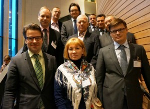 Heads of delegations in the Barents ministerial meeting. (Photo: Ulla Ahonen)