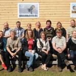 Эксперты-участники семинара у визит-центра «Губа Лиминка». Фото: Анна Кухмонен