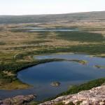 Вид на полуостров Средний. Фото: Ольга Петрова.